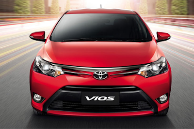 Mobil Toyota Vios All New Vios 2014