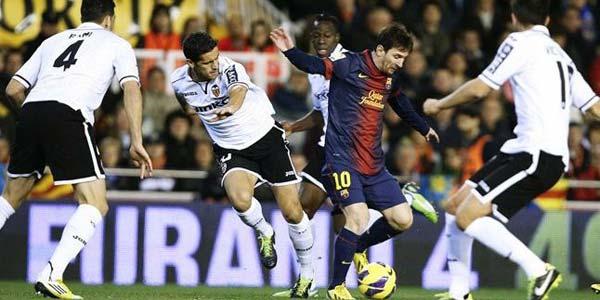 Cuplikan Gol: Valencia 1-1 Barcelona (La Liga)