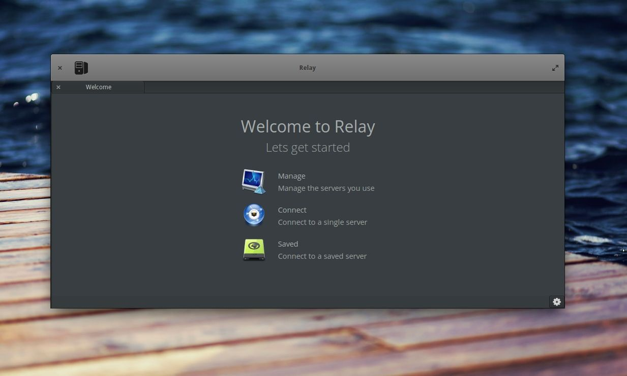 Relay in elementary OS