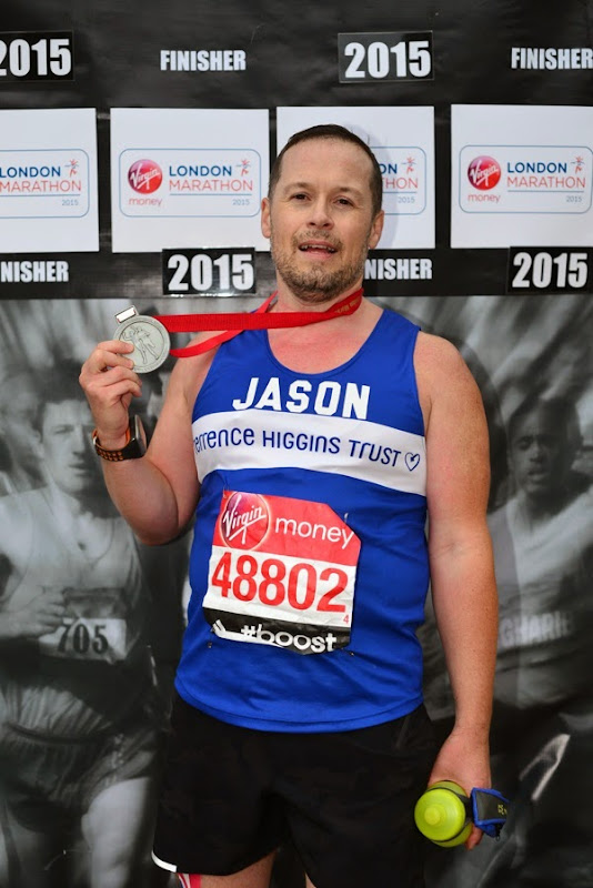 2015 London Marathon Finisher