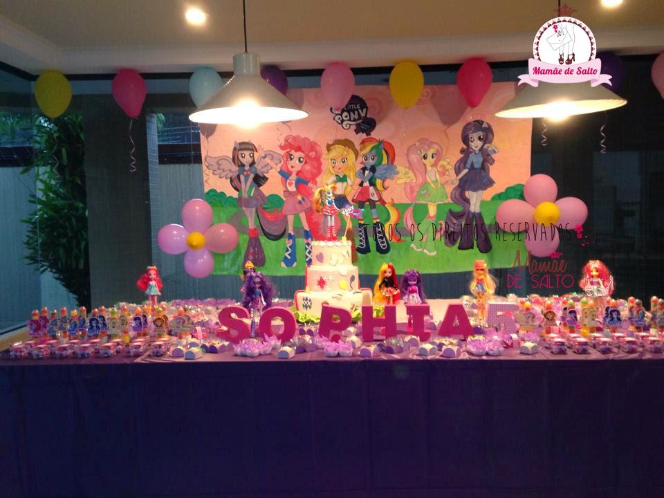 festa equestria girls blog Mamãe de Salto