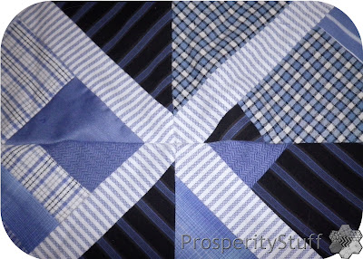 Shirt Quilt Block Sashings - ProsperityStuff