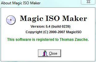 magic iso register serial key
