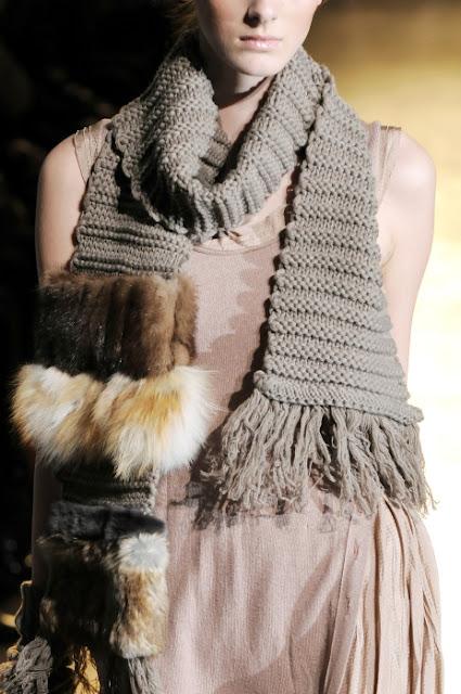 MASSIMO REBECCHI scarf sciarpa tricot