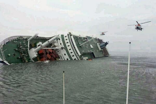 South Korea ship sank April 16, 2014