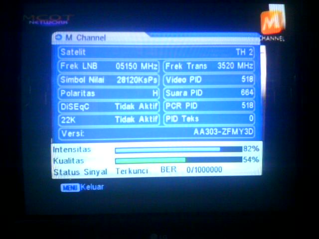 M Channel Thaicom 5