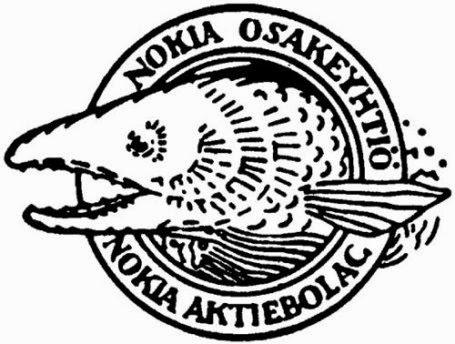 Nokia Logo in 90s