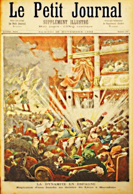 La bomba del Liceu (Le Petit Journal, 1893)