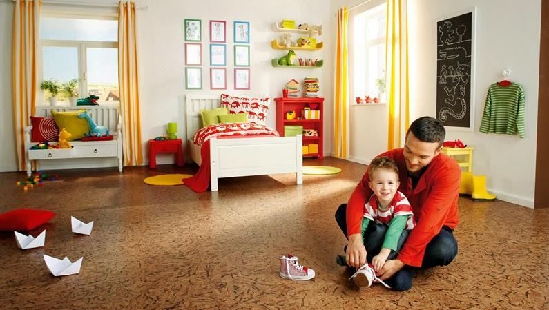 Suelos de corcho para nuestras casas sostenibles ideas eco - Suelo de corcho precio ...