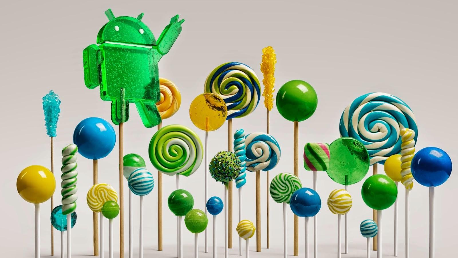 Kelebihan dan keunggulan OS Android Lolliop 5.0