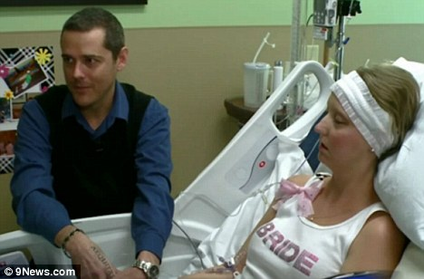 Breast and brain cancer patient marries in heart wrenching hospital