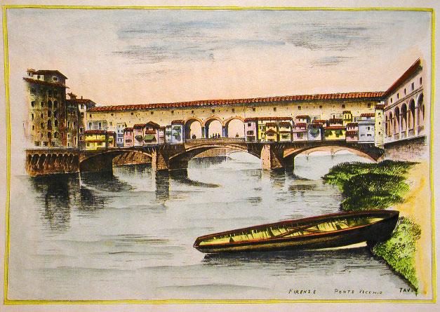 Ponte Vecchio-Florenta