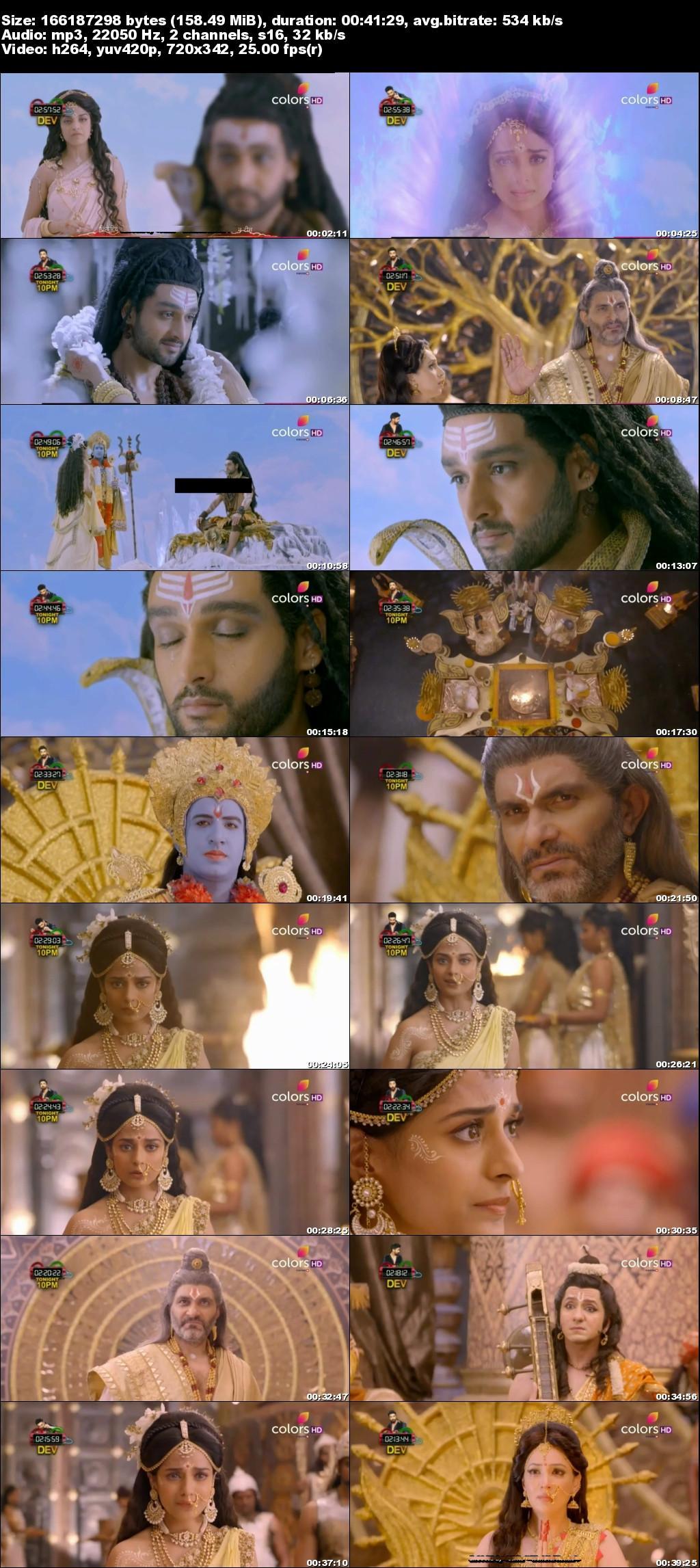 Screenshots Of Hindi Show Mahakali 2017 Episode 06 300MB 480P HD