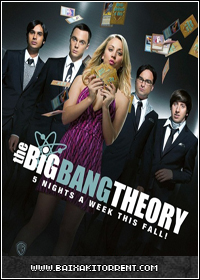 Capa Baixar Série The Big Bang Theory 7ª Temporada S07E08 HDTV   Legendado Baixaki Download