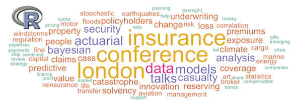 Registration for the 2014 'R in Insurance' conference has opened