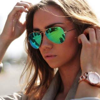 oculos de sol verao 2016 aviador verde