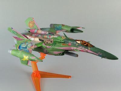 YF-29 デュランダルバルキリー ファイターモード ランカマーキングVer.
