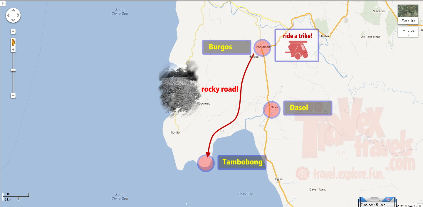 How to Get to Tambobong Dasol Pangasinan with Maps  Travex