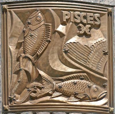 Escultura Piscis en Bronce