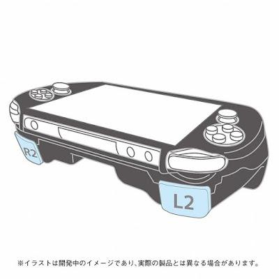 Podremos usar los botones L2 y R2 en nuestra PsVita 2