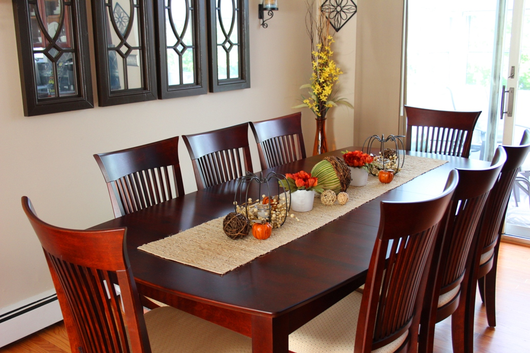 fall dining room tablescape. Black Bedroom Furniture Sets. Home Design Ideas