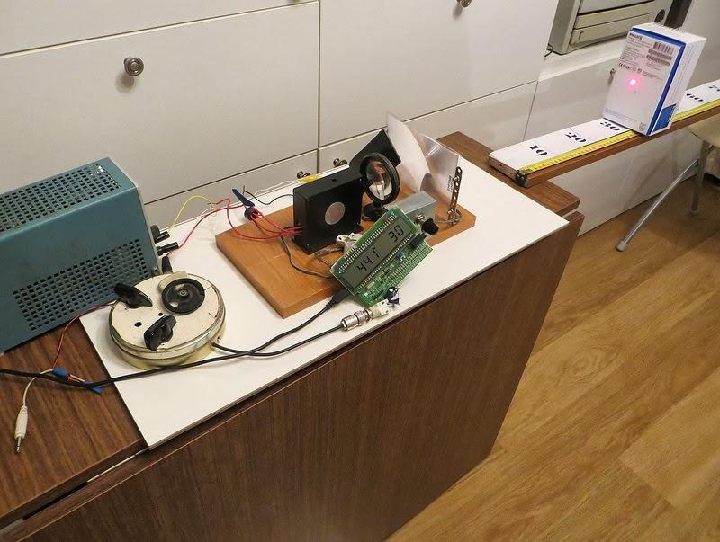 Medidor de distância Laser caseiro com ARM