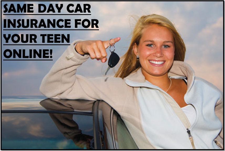 Same Day Car Insurance Cover For Teenagers
