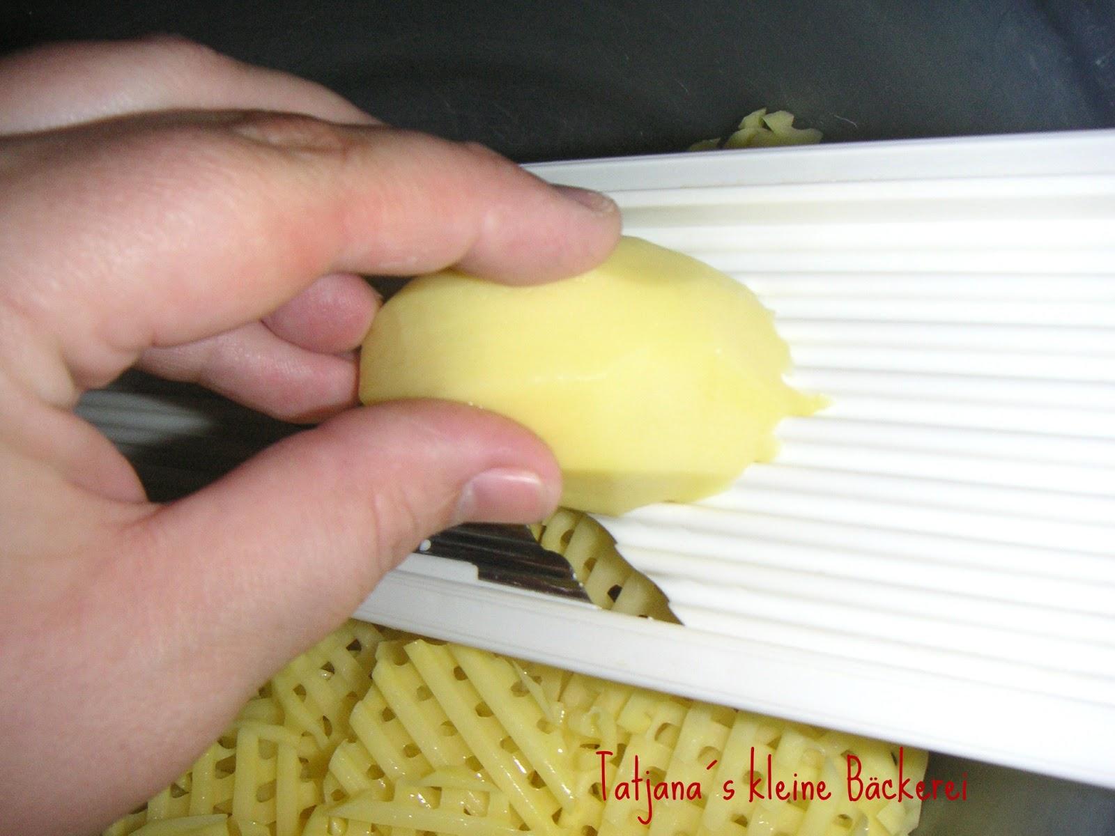 Tatjana´s kleine Bäckerei: Gitter-Pommes