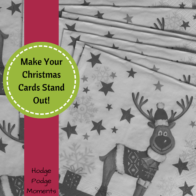 Make Your Christmas Cards Stand Out