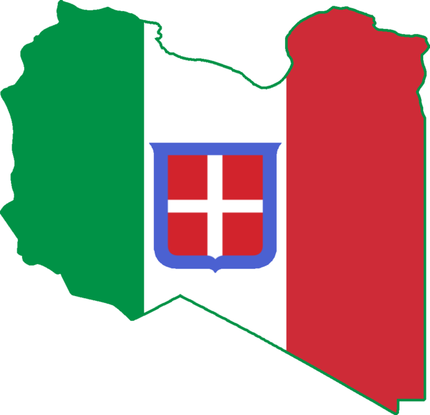 The italian monarchist maps