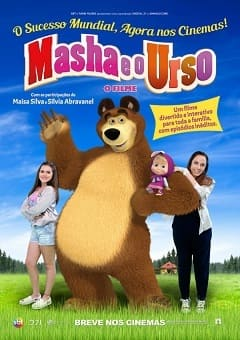 Masha e o Urso - O Filme Filmes Torrent Download capa