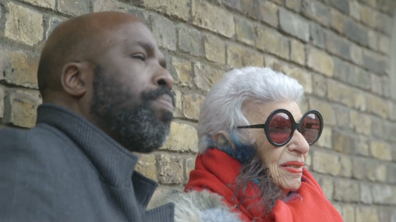 91-Year-Old Style Doyenne Iris Apfel Shares Life Lessons with Designer Duro Olowu at the Zoo