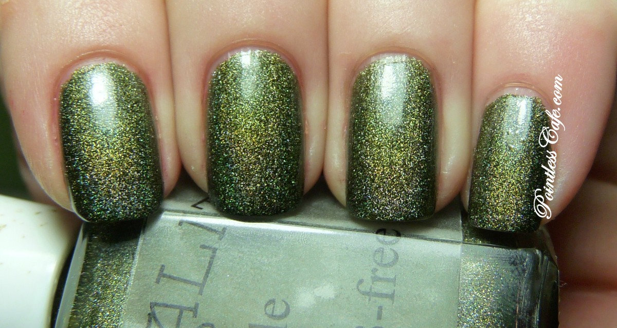Chirality Nail Polish Kale - Swatches and Review | Pointless Cafe