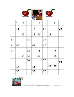 100s Grid Blank | New Calendar Template Site