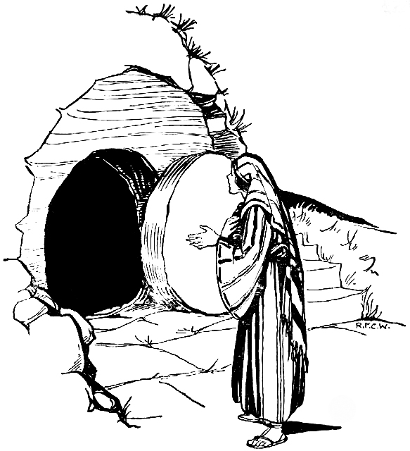 the empty tomb the scripture reference for this coloring page