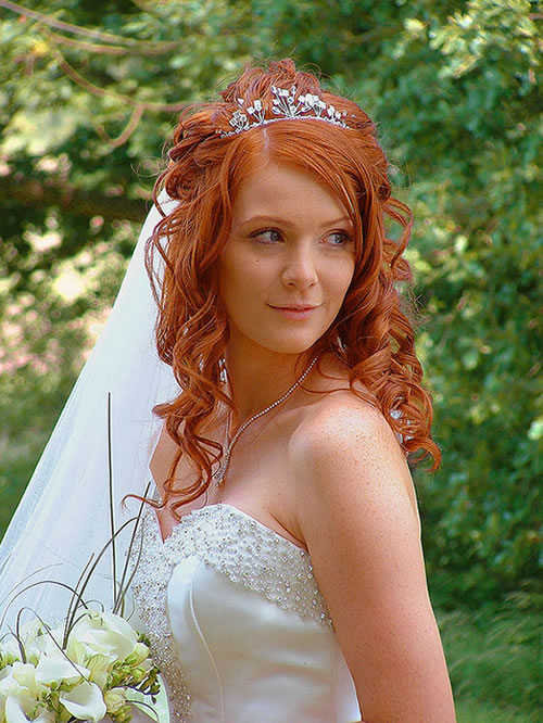 black bride hairstyles with veil. lack bride hairstyles with