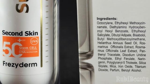 review opinion Fotoprotector Velvet Sunscreen INCI Octocrileno Octocrylene