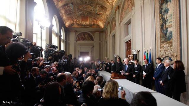 Itália: MÁRIO MONTI FORMA EQUIPE DE GOVERNO SEM NENHUM POLÍTICO DE PROFISSÃO