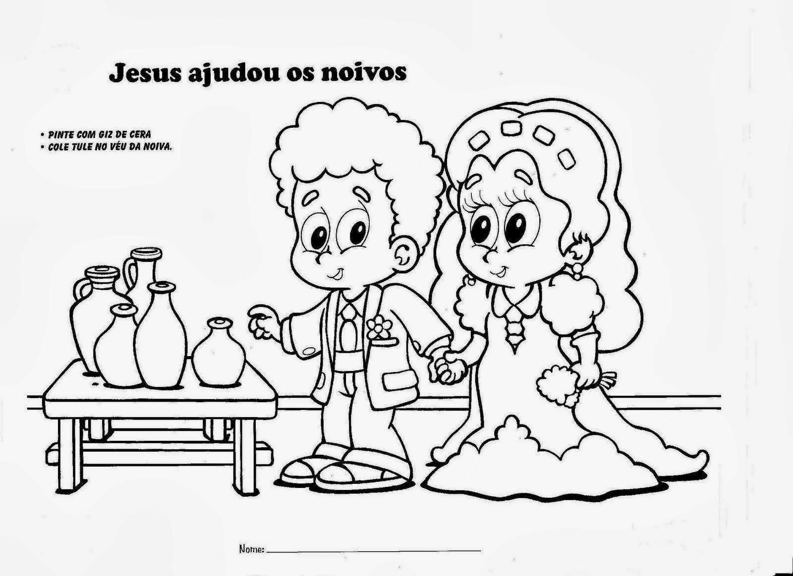 marcinha anjos jesus transforma água em vinho