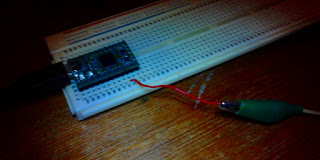 am transmitter with atmega 32 microcontroller