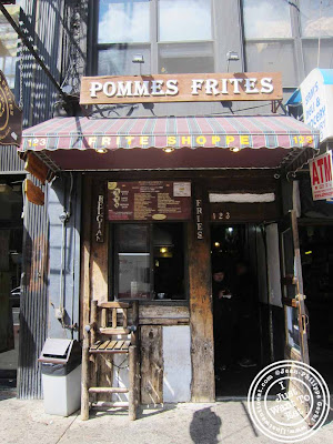 Image of Pommes frites in NYC, New York