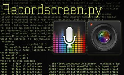 Gravador de tela em Python