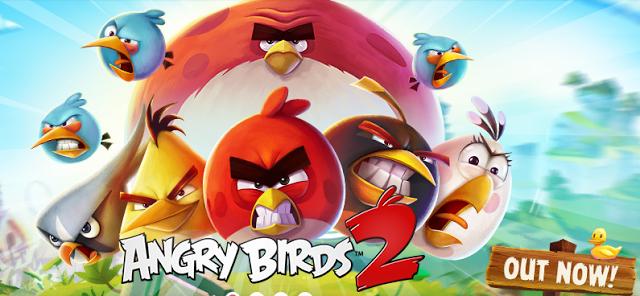 تحميل لعبة الطيور الغاضبة 2015 للاندرويد و للايفون Angry Birds 2