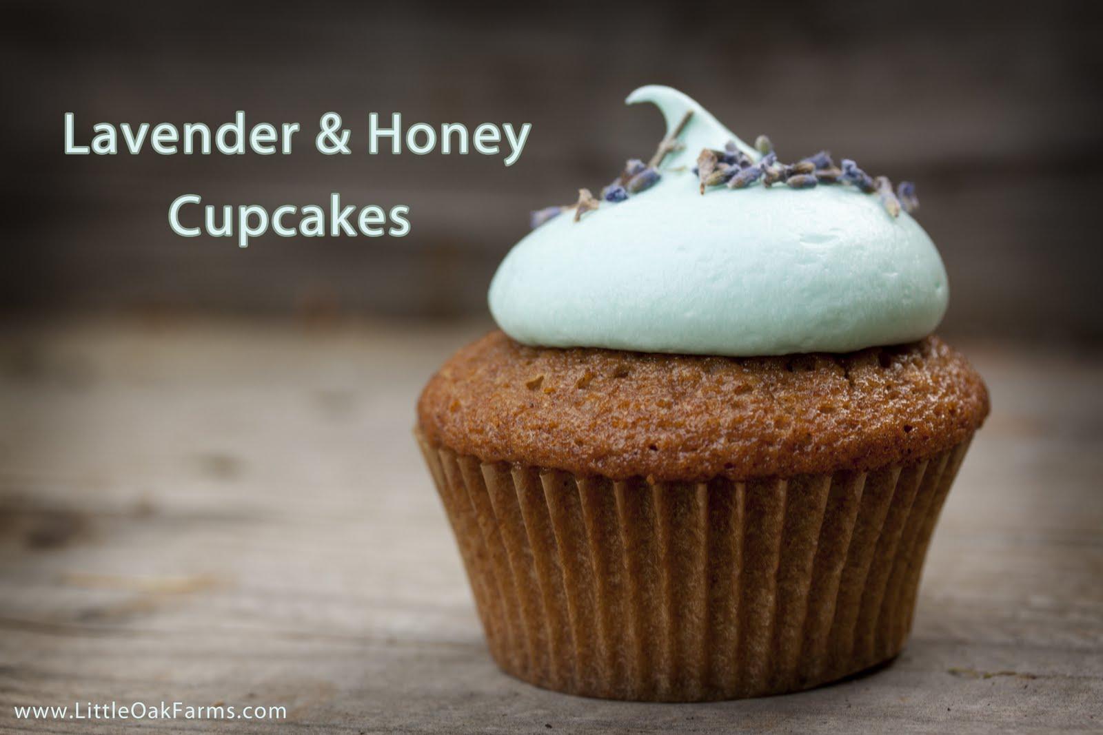 Little Oak Farms Kitchen: Herbs | Lavender & Honey Cupcakes