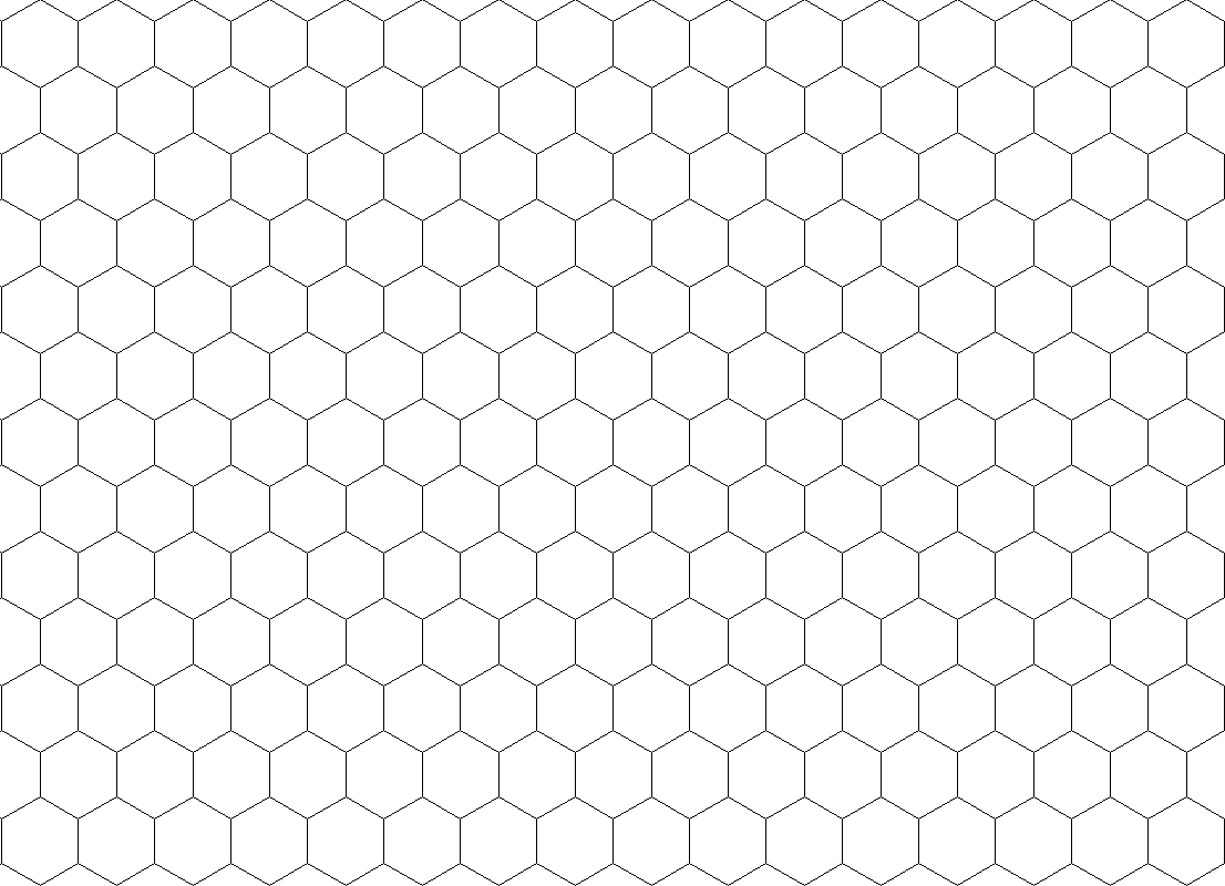Soft image intended for hex paper printable