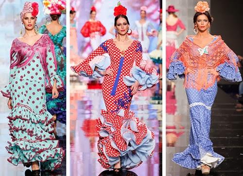 moda trajes de flamenca 2014