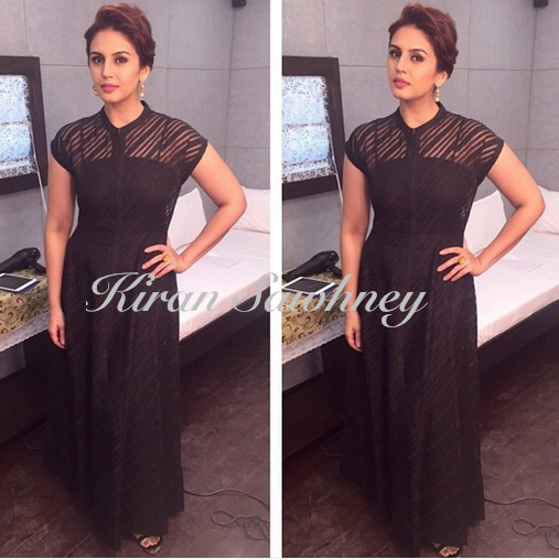 Huma Qureshi in Anita Dongre
