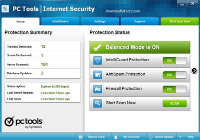 License Key PC Tools Internet Security 2013 Free Offline Installer