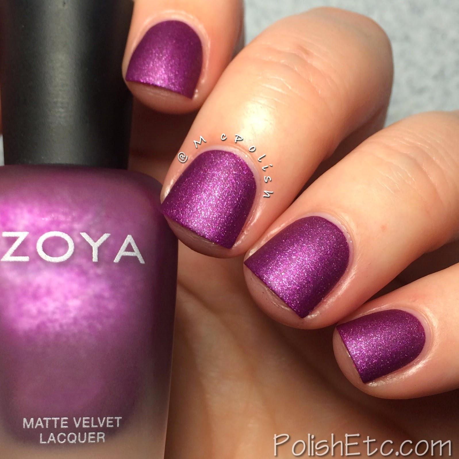 Zoya Harlow - Matte Velvet - McPolish