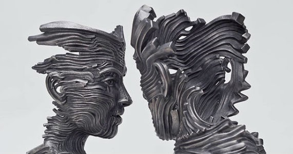 Flow: Uma Série de Incríveis Esculturas em Aço do Artista Gil Bruvel